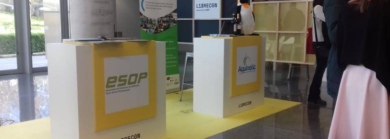 Stand ESOP no LIBRECON 2018